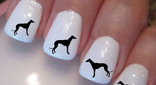 Greyhound Nail Stickers - Whippet Galgo Nailstickers