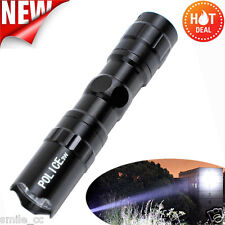 Mini Waterproof LED Tactical Flashlight Camping Hiking Super Bright Torch Light