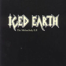 The  Melancholy by Iced Earth CD SILVER EMBOSSED COVER 2000Century Media Records
