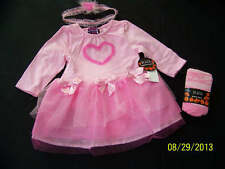 NWT CHILDREN'S PLACE TCP PINK BALLERINA COSTUME WITH TIGHTS 0-6 MOS DRESS UP