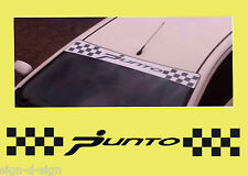 PUNTO SUNSTRIP with CHEQUES DECALS GRAPHICS STICKER SS052