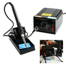 110V 220V 936 Power Electric Soldering Station SMD Rework Welding Iron W/ Stand