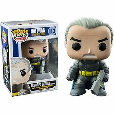 "DC COMICS THE DARK KNIGHT RETURNS ARMORED UNMASKED BATMAN 3.75"" VINYL FIGURE POP"