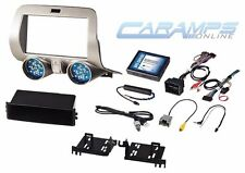NEW CAMARO 1 OR DOUBLE 2 DIN CAR STEREO RADIO DASH INSTALLATION KIT W/ WIRING