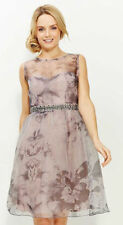 New Little Mistress Organza Embellished Prom Party Dress  Size 8