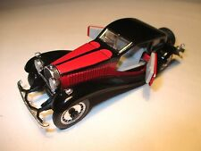 Bugatti type t 50 t50 coupe en noir/rouge noir/rouge Black/red, rio 1:43!