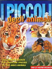 "KINDERPLAY: ALBUM FIGURINE ""I Piccoli degli Animali"" - INCOMPLETO (24 mancanti)"