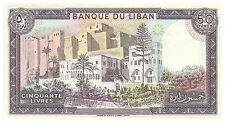50 Livres Banknote - Lebanon - Uncirculated Pick 65D