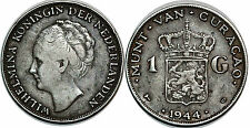 CURACAO 1 GULDEN 1944 KM# 45