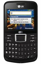 LG C195 Black Unlocked GSM Quadband Qwerty WiFi camera camera Smartphone