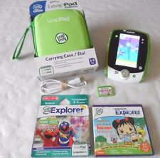 LeapFrog Leap Pad 2 Explorer Learning Tablet, New Carrying Case,3 games,USB Cord