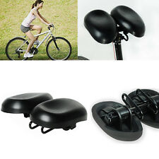Extra Wide Large MTB Mountain Bike Bicycle Cycling Saddle Cover Cushion Seat Pad