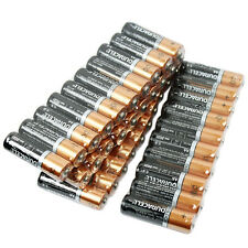40 Duracell AA Alkaline Batteries with Duralock  - Exp.2025 Shrink Wrapped New