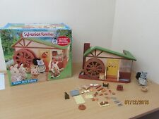 Sylvanian Families Water Mill Bakery - Boxed with baker loads of accesories