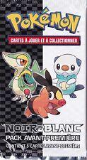 1x Booster Echantillon - Noir et Blanc - Cartes Pokemon Neuves Française