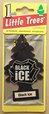 Little Trees Air Freshener Black Ice for Toyota Subaru Nissan VW Holden Ford BMW