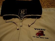 Volvo 770 Test Drive Tour Truck Jacket Coat for over Shirt XL