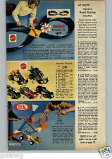 1972 PAPER AD 3 Pg Raceway Aurora AFX Sizzlers Train Lionel Sound Steam Marx