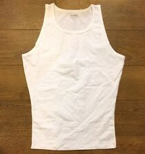 Spanx 642 Men's Cotton Control Tank Top Undershirt sz M MEDIUM NWOB white