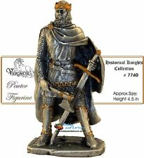 Pewter Robert the Bruce Knight (Men at Arms)Myths and Legends Ancestors # 7740
