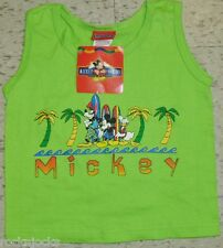 Mickey Mouse Youth Kids Tank Top shirt sz. 4T/5T BRAND NEW!! Disney Donald Duck