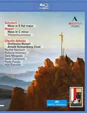 Schubert:  Mass in E flat major; Mozart: Mass in C minor [Blu-ray], New DVDs