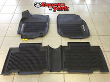 2013-2016 NEW OEM TOYOTA RAV4 ALL WEATHER RUBBER FLOOR LINER SET PT908-42165-20