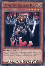 Yu-Gi-Oh !  Carte Dame guerrière D.D./Warrior Lady : YS14-FRA04 - VF/Commune
