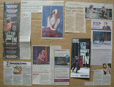 Let The Right One In - Theatre leaflet flyer/clippings/reviews
