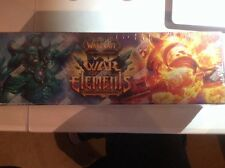 WORLD OF WARCRAFT WORD WOR OF THE ELEMENTS EPIC COLLECTION BOX FACT SEALD.
