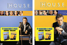 House MD Seasons 1 and 2 DVDs - New in Sealed Package