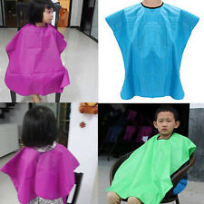 Practical Children Waterproof Hair Cut Hairdressing Barbers Cape Gown Cloth