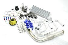 CIVIC DEL SOL D15 D16 D-SERIES T3/T4 BOLT-ON REV TURBO CHARGER KIT +MANIFOLD