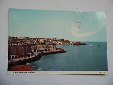 Broadstairs - The Red Arrows over Broadstairs, Kent - Postcard - Ref:ET6176.