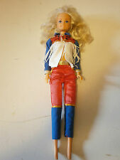 Blonde LUCKY Doll Wearing Red White Blue Western Outfit AS IS