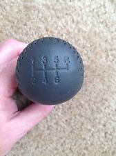 NOS NEW 2000 FORD MUSTANG SVT COBRA R MODEL 6-SPEED LEATHER SHIFT KNOB