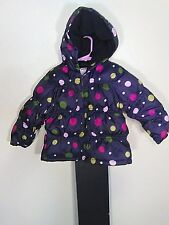 Gymboree 2/3T Girls Puff Winter Snow Coat Jacket With Hood