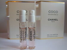 2 x CHANEL COCO MADEMOISELLE EDP SPRAY 2ml MINI