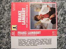 Musikkassette Franz Lambert / Pop Orgel Hitparade 6 – Orgel MC
