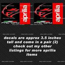 aprilia factory lionhead decals with italian colors