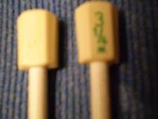 LONG VINTAGE KNITTING NEEDLES size 3 1/4mm / 10 UK