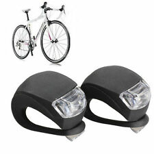 Bike Silicone Frog Black Light LED Front Firm Safety Waterproof Warning Lamp
