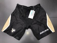 New! Bauer Pittsburgh Penguins NHL Pro Stock Team Hockey Player Pants Shell M