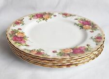 Royal Albert Old Country Roses insalata Piastre x 4