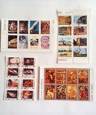 Umm Al Qaiwain Stamps - 1972 - Paintings, animals, fish and space