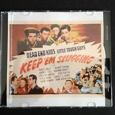 KEEP 'EM SLUGGING Dead End Kids Classic DVD 1943 - Taken from a 35mm print!