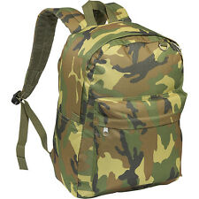 Everest Jungle Camo Classic Backpack - Jungle Camo Everyday Backpack NEW