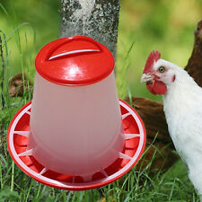 1.5kg Plastic Food Seed Automatic Feeder For Chicken Chick Hen Chook Poultry New