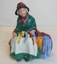 VINTAGE ROYAL DOULTON SILKS AND RIBBONS FIGURINE NO 2017 RETIRED