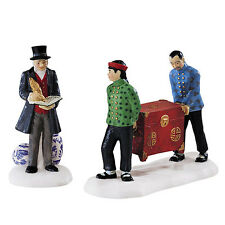 Dept 56 Dickens FINE ASIAN ANTIQUES, St/2, #58462, New in Box